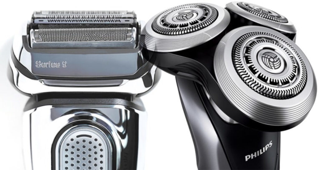 Rotary electric shaver and Foil electric shaver