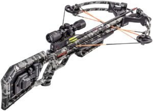 Wicked Ridge Invader 400 Crossbow with Acu draw 50