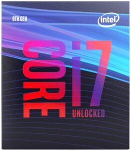 Intel i7 – 9700K