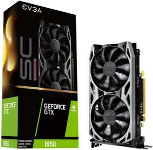 EVGA GeForce GTX 1650 SC Ultra Gaming GDDR6, 04G-P4-1257-KR