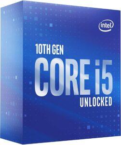 Intel Core i5-10600K Desktop Processor 6 Cores up to 4.8 GHz Unlocked LGA1200